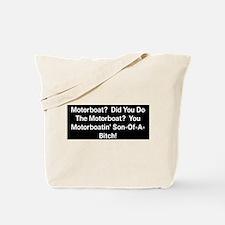 Motorboat T-Shirt Tote Bag