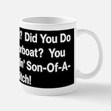 Motorboat T-Shirt Mug