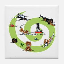 CKCS Playtime Tile Coaster