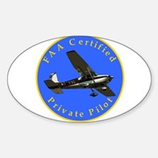 Private Pilot Rectangle Decal