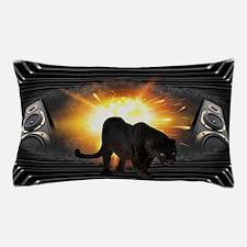 Black Panther Music Design Pillow Case