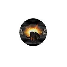 Black Panther Music Design Mini Button (10 pack)