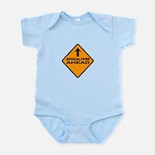 apocalypse ahead Infant Bodysuit