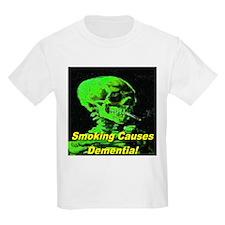 Smoking Causes Dementia Erie Kids T-Shirt