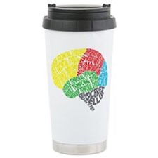 Cute Brain Travel Mug