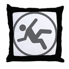 Funny Daredevil Clumsy Shirt Throw Pillow