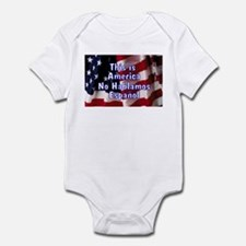 No Hablamos Espanol Infant Bodysuit