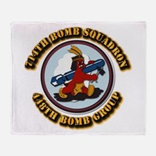 AAC - 714BS- 448BG - 8AF Throw Blanket