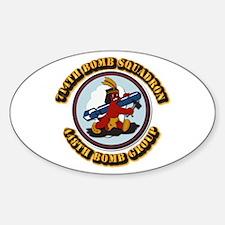 AAC - 714BS- 448BG - 8AF Sticker (Oval)