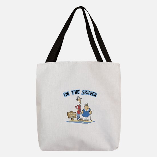 FIN-the-skipper.png Polyester Tote Bag