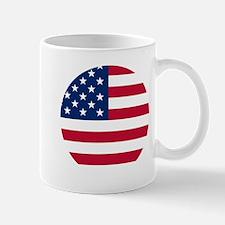 USA United States Circle Design Mug
