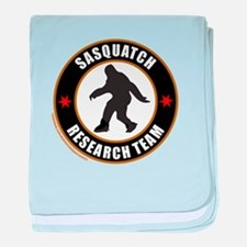 SASQUATCH RESEARCH TEAM baby blanket