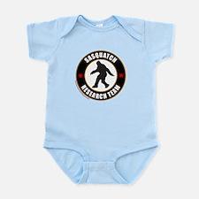 SASQUATCH RESEARCH TEAM Infant Bodysuit
