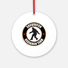 SASQUATCH RESEARCH TEAM Ornament (Round)