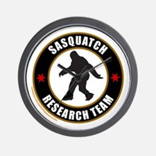SASQUATCH RESEARCH TEAM Wall Clock