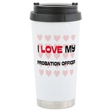 Cute Probation officer school Travel Mug