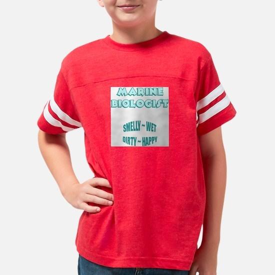 marine-biologist-FI... Youth Football Shirt