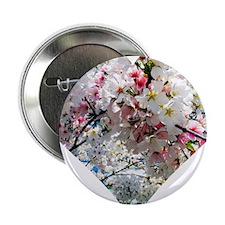 "Blossoming Heart 2.25"" Button"