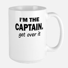IM THE CAPTAIN 4 WHITE Mugs