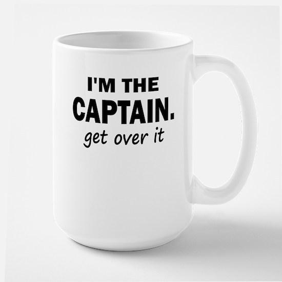 IM THE CAPTAIN 4 WHITE Mugs