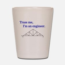 Unique Structural engineer Shot Glass