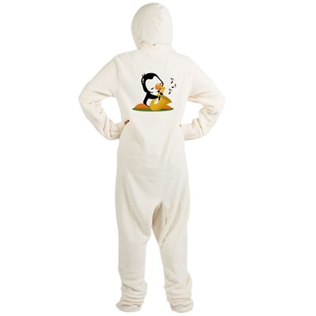 Penguin Footed Pajamas