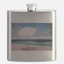Beachy Day Flask