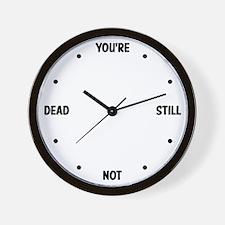 Brutally Honest Clock Wall Clock