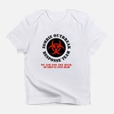zombie outbreak response team Infant T-Shirt