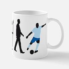 evolution soccer player Mug
