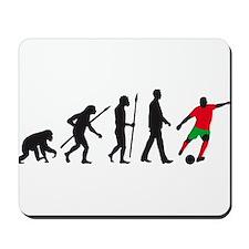 evolution soccer player Mousepad