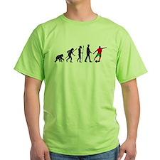 evolution soccer player T-Shirt