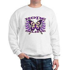 Hope Believe Alzheimers Sweatshirt
