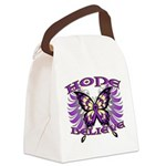 Hope Believe Alzheimers Canvas Lunch Bag