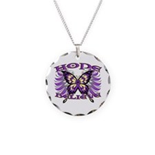 Hope Believe Alzheimers Necklace