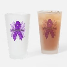 Hope Cure Alzheimers Drinking Glass