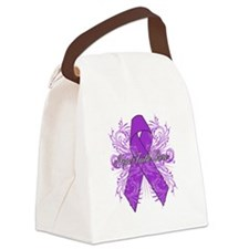Hope Cure Alzheimers Canvas Lunch Bag