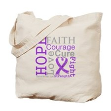 Hope Courage Alzheimers Tote Bag