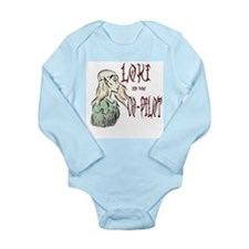 Loki Is My Co-Pilot Long Sleeve Infant Bodysuit