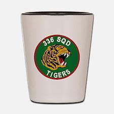 336 SQD Tigers Shot Glass