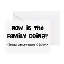 how is the family doing.PNG Greeting Card