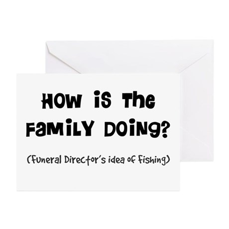 how is the family doing.PNG Greeting Cards (Pk of
