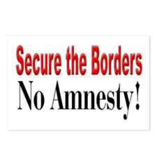 Secure the Borders Postcards (Package of 8)