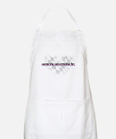 American Muscle Logo BBQ Apron
