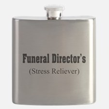 Funeral Director Stress Reliever.PNG Flask