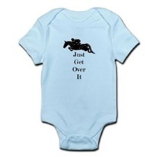 Just Get Over It Horse Jumper Infant Bodysuit