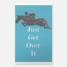Just Get Over It Horse Jumper Decal