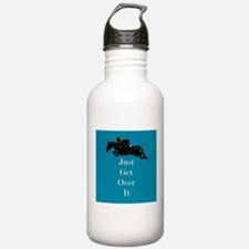 Just Get Over It Horse Jumper Water Bottle