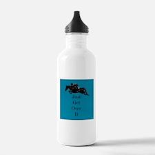 Just Get Over It Horse Jumper Water Bottle