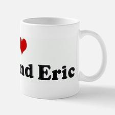 I Love Abbie and Eric Small Small Mug